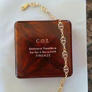18K gold bracelet from Italy